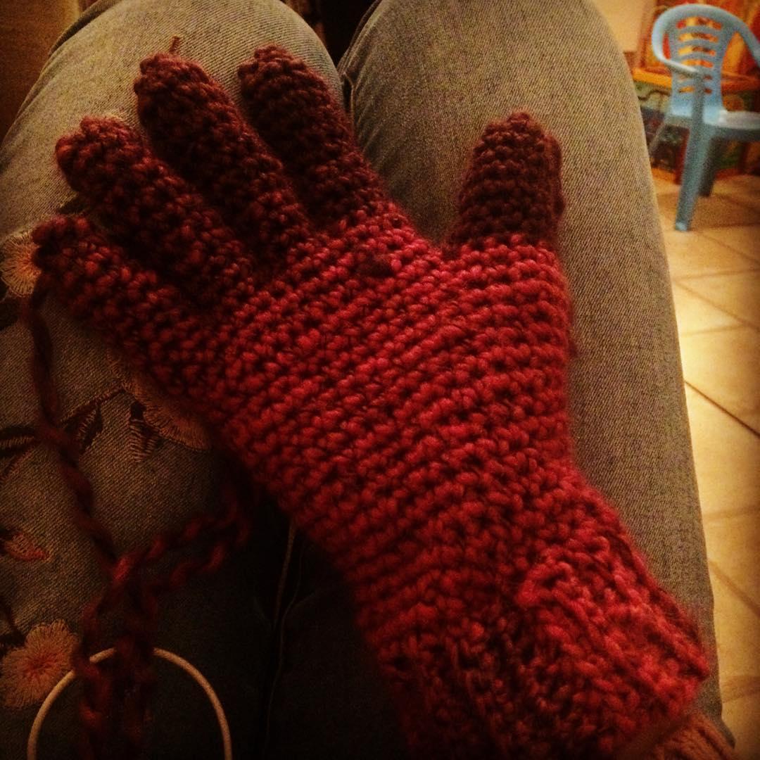 Free Half Finger Or Other Crochet Gloves Free Pattern Images For