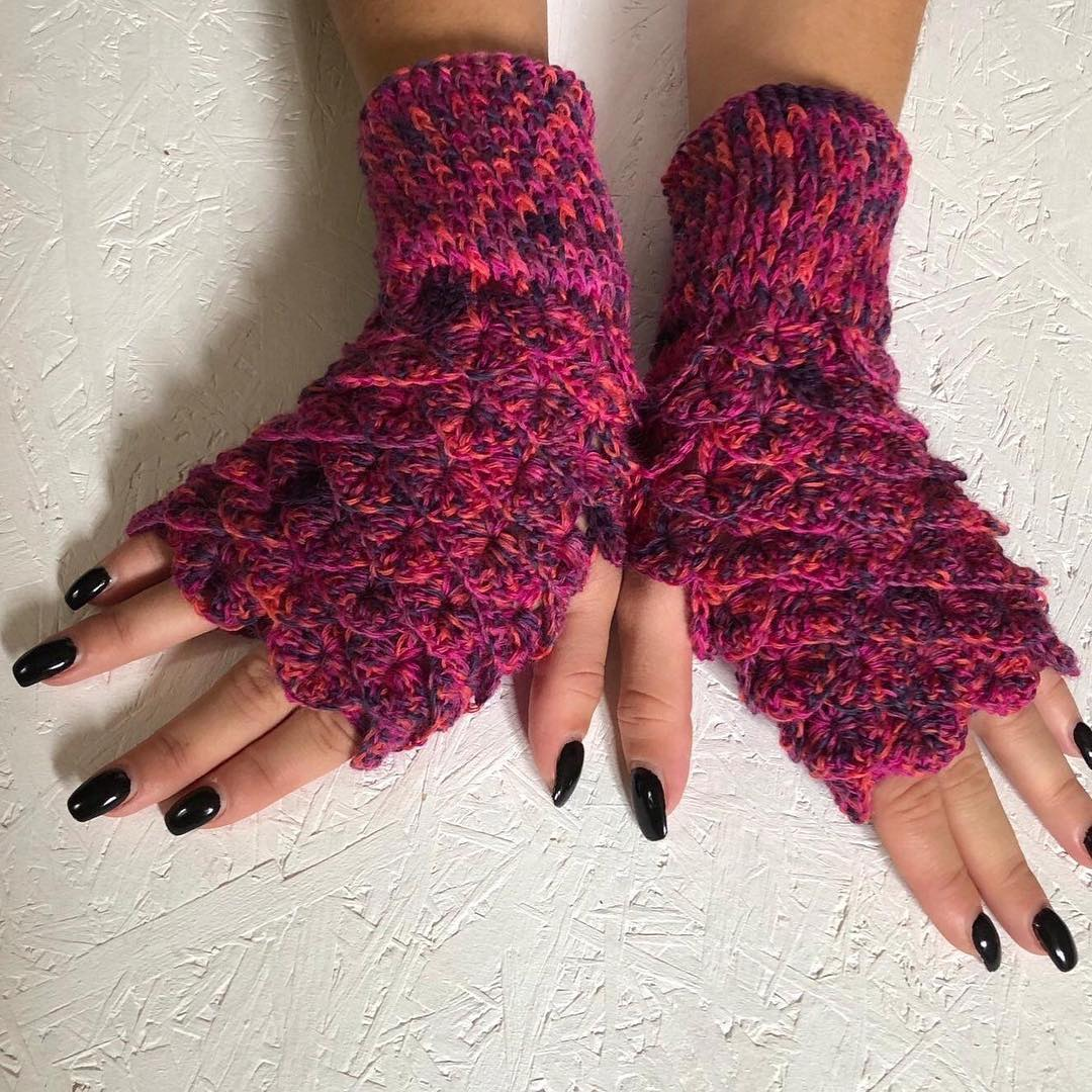 FREE Half finger or Other Crochet Gloves free pattern ...